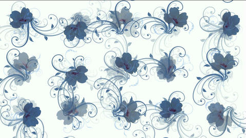 flower pattern background Animation