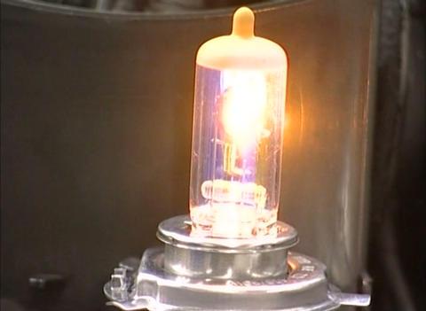 Automobile lamp Stock Video Footage