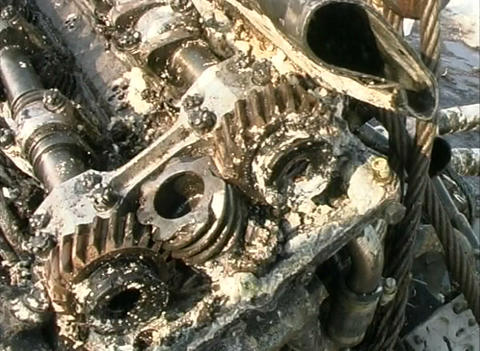 Aircraft engine Stock Video Footage