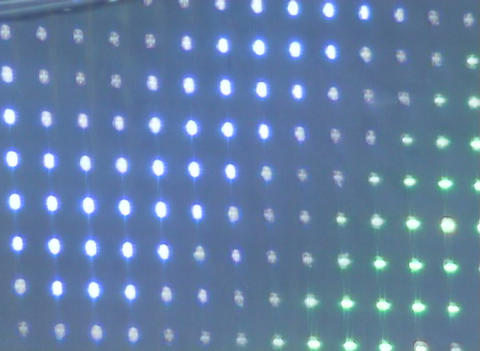 Flashing display Stock Video Footage