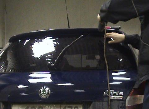 Car toning Stock Video Footage