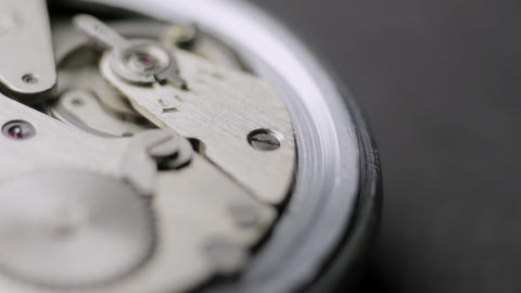 Open Watch Turning Stock Video Footage