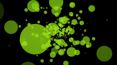 green dot Animation