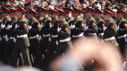Parade 10 Stock Video Footage