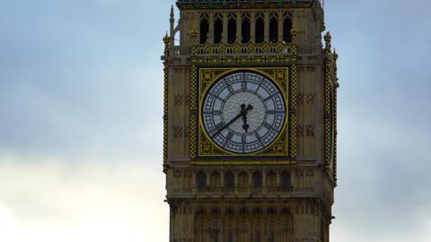 Big Ben dial extreme close-up Footage