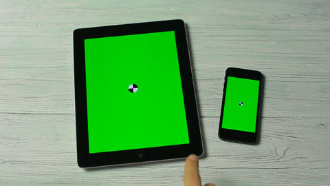 Slide Moves on Tablet Pc and Smartphone Live Action