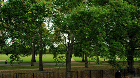 Hyde Park in London, England Footage