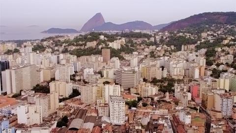 Aerial cityscape - Rio de Janeiro Footage