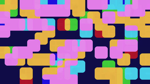 Abstract Texture of Big Squares Moving Footage