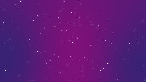 Magical glitter night sky background Animation