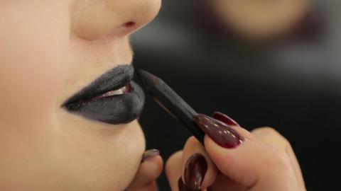 Black Lipstick Smile Live Action
