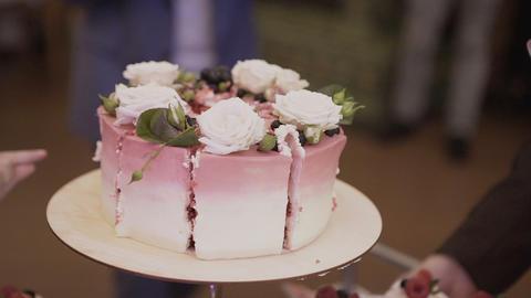 cake.Candy Bar Wedding, candy buffet Footage