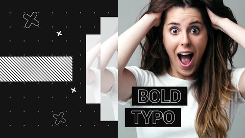 Bold Typo Opener After Effects Template