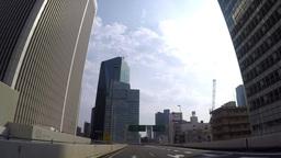 The city of small Edo, Kawagoe warehouse building Footage