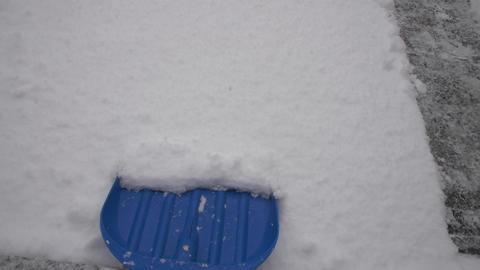 snow shovel cleaning Live Action