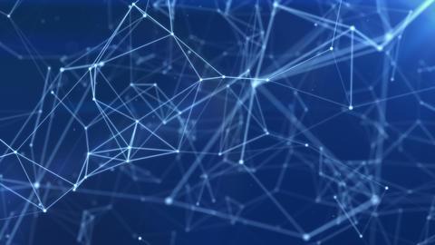 Blue Plexus Line Background Animation