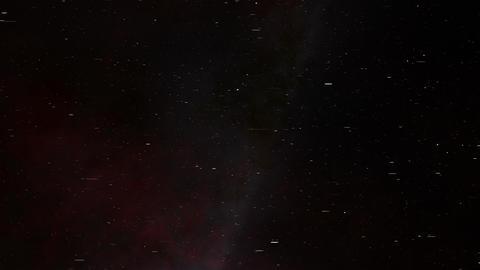 Lightspeed Pan Across the Orion Nebula Animation