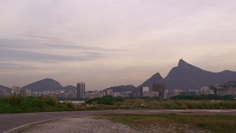 RIO DE JANEIRO, BRAZIL - JUNE 21: Shot of plane landing at the airport on June 2 Footage