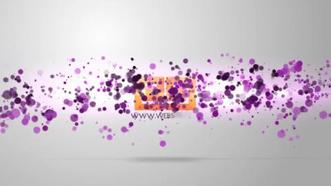 Particle Logo After Effects Template