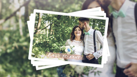 Elegant Wedding Slideshow After Effects Template