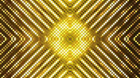 Glitter Back kaleida2 line Gold1 4k Animation
