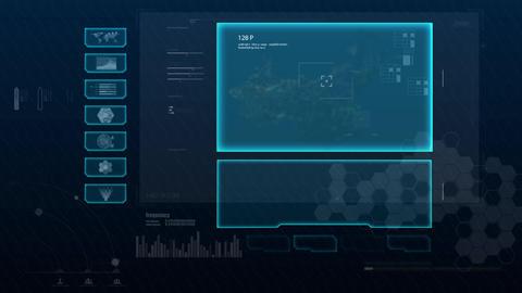 Hud infographics Hi-Tech v8 preRendered - 2