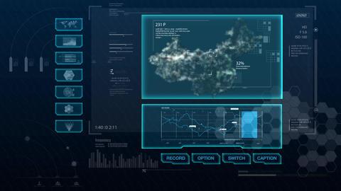 Hud infographics Hi-Tech v8 preRendered - 4