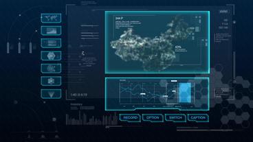 Hud infographics Hi-Tech v8 preRendered - 6