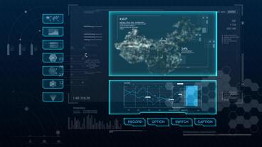 Hud infographics Hi-Tech v8 preRendered - 8