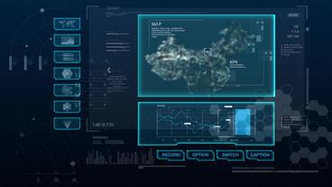Hud infographics Hi-Tech v8 preRendered - 9