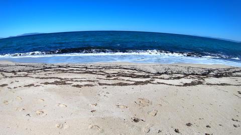 tilt view of the beach Footage