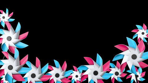 Pinwheel Frame 01 Animation