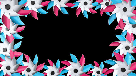 Pinwheel Frame 02 Animation