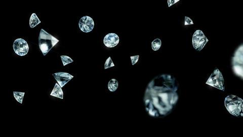 Diamonds Rain 01 Animation