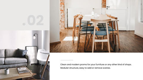 Furniture Promo After Effects Template