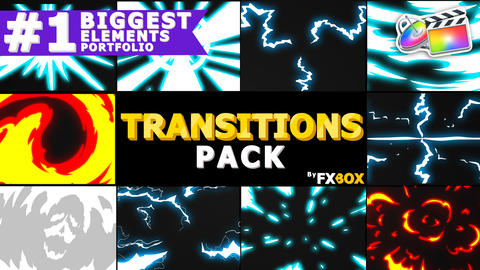 Dynamic Handy Transitions Apple Motion Template