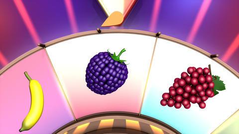 Children video animation, Wheel of fruit Apple Live Action