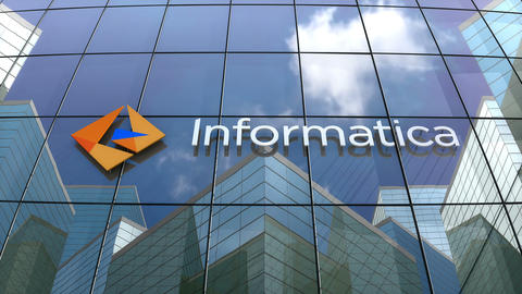 Editorial, Informatica logo on glass building Live Action