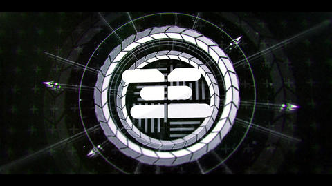 Sci Fi Modern HUD Logo 2 After Effects Template