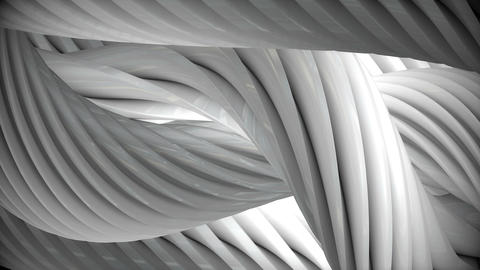 Background animation rotating cables CG動画