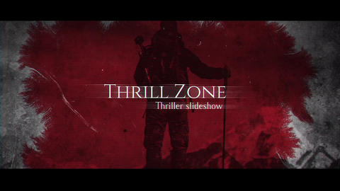 Thrill Zone After Effects Template