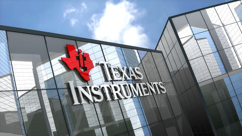 Editorial, Texas Instruments building Animation