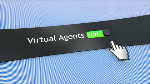 Application setting Virtual agents Live Action