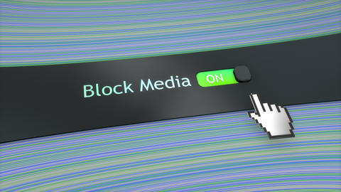 Application setting Block media Animation