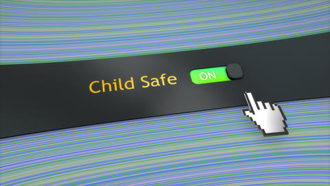 Application setting Child safe Footage