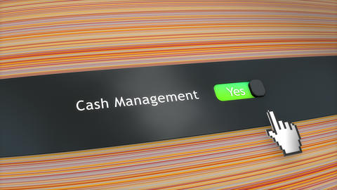 Application setting Cash management Live Action