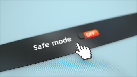 Application setting Safe mode, Stock Animation