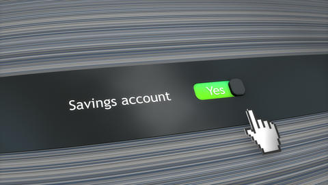 Application setting Saving account Live Action
