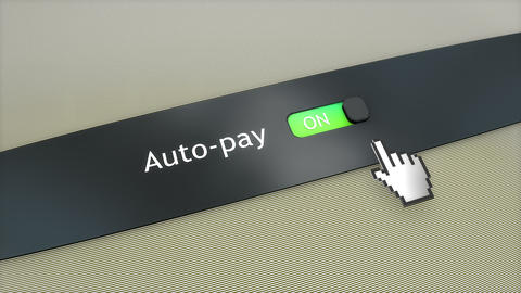 Application setting Auto pay Live Action