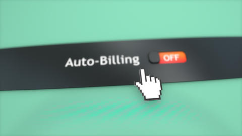 Application setting Auto billing Footage